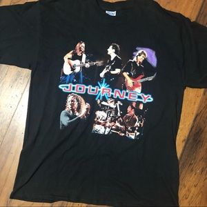 Vintage 1999 Journey Summer Tour Band Tee Shirt